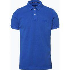 Koszulki polo: Superdry - Męska koszulka polo, niebieski