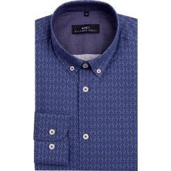 Koszula MARCO 16-08-06. Czarne koszule męskie marki TOM TAILOR DENIM, l, z bawełny, button down, z długim rękawem. Za 259,00 zł.