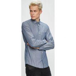 S. Oliver - Koszula. Szare koszule męskie na spinki S.Oliver, l, z bawełny, z klasycznym kołnierzykiem, z długim rękawem. W wyprzedaży za 129,90 zł.