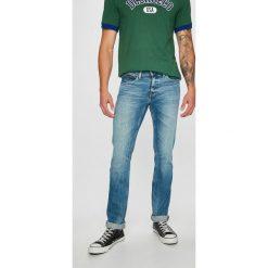 Tommy Jeans - Jeansy Scanton. Niebieskie jeansy męskie slim Tommy Jeans, z bawełny. Za 399,90 zł.