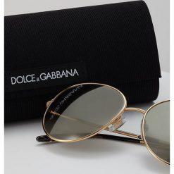 Dolce&Gabbana Okulary przeciwsłoneczne light brown/dark goldcoloured. Brązowe okulary przeciwsłoneczne damskie lenonki Dolce&Gabbana. Za 839,00 zł.