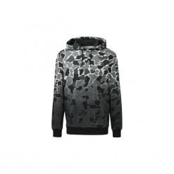 Bluzy adidas  Bluza z kapturem Camouflage Dip-Dye. Czarne bluzy męskie rozpinane Adidas, l, z kapturem. Za 349,00 zł.