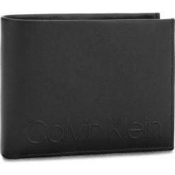Duży Portfel Męski CALVIN KLEIN - Essential 5CC Coin K50K503831 001. Czarne portfele męskie marki Calvin Klein, ze skóry. Za 279,00 zł.