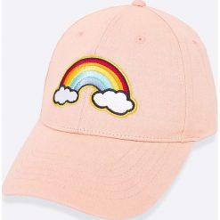 Wrangler - Czapka. Szare czapki z daszkiem damskie Wrangler, z bawełny. W wyprzedaży za 79,90 zł.