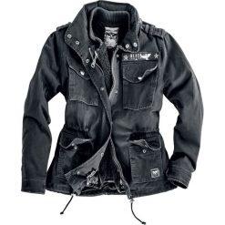 Black Premium by EMP Ladies Army Field Jacket Kurtka damska czarny. Czarne bomberki damskie Black Premium by EMP, xs. Za 199,90 zł.