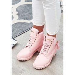 Buty zimowe damskie: Różowe Traperki Pinky Love