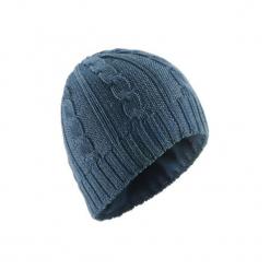 Czapka narciarska TORSADES. Niebieskie czapki damskie marki WED'ZE, z materiału. Za 39,99 zł.