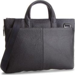 Torba na laptopa PIQUADRO - CA4021B3 BLU. Czarne torby na laptopa marki Piquadro, ze skóry. W wyprzedaży za 799,00 zł.