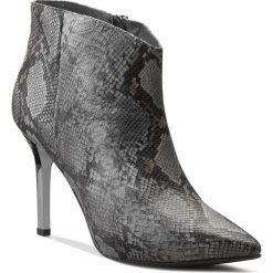 Botki GINO ROSSI - Salemi DBG596-M09-EQ00-3300-0 88. Szare buty zimowe damskie marki Gino Rossi, ze skóry, ze szpiczastym noskiem. W wyprzedaży za 409,00 zł.