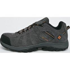 Columbia - Buty Canyon Point Leather. Brązowe buty trekkingowe męskie Columbia, z materiału, na sznurówki, outdoorowe. W wyprzedaży za 399,90 zł.