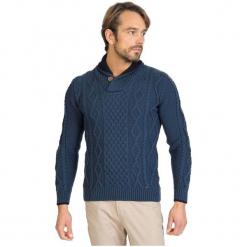 Sir Raymond Tailor Sweter Męski, M, Niebieski. Niebieskie swetry klasyczne męskie Sir Raymond Tailor, m, z wełny. Za 199,00 zł.