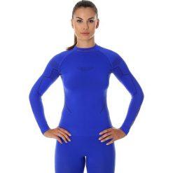Bluzki sportowe damskie: Brubeck Koszulka damska z długim rękawem Thermo niebieska r. XL (LS13100)
