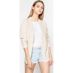 Sweter rozpinany GESIDIOS. Szare kardigany damskie marki La Redoute Collections, m, z bawełny, z kapturem. Za 499,80 zł.