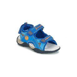 Sandały Dziecko  Babybotte  YOYO. Niebieskie sandały chłopięce marki Babybotte. Za 219,00 zł.