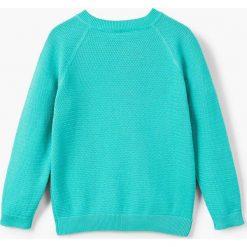 Mango Kids - Sweter dziecięcy Stones 110-164 cm. Szare swetry chłopięce Mango Kids, z bawełny, z okrągłym kołnierzem. Za 69,90 zł.