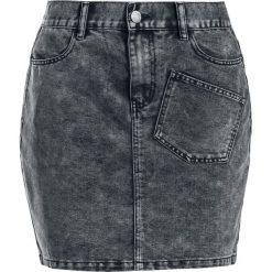 Spódniczki jeansowe: Noisy May Sophia Denim Skirt Spódnica czarny