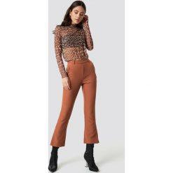 Spodnie damskie: Moves Spodnie Ynne - Brown