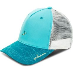 Czapka z daszkiem SALOMON - Mantra Logo Cap W 400469 08 G0 Blue Curacao. Szare czapki z daszkiem damskie marki Salomon, z gore-texu, na sznurówki, outdoorowe, gore-tex. W wyprzedaży za 119,00 zł.