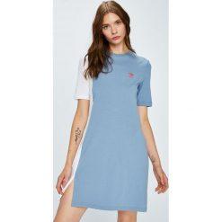 Adidas Originals - Sukienka. Brązowe sukienki dzianinowe marki adidas Originals. Za 169,90 zł.
