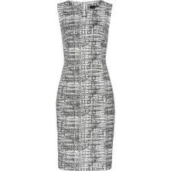 Sukienki: Sukienka bonprix czarno-biały wzorzysty