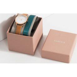 Parfois - Zegarek Silver Tray + pasek. Szare paski damskie Parfois, szklane. W wyprzedaży za 99,90 zł.