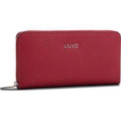 Duży Portfel Damski LIU JO - Xl Zip Around Isola N68174 E0033 Red 91656. Czerwone portfele damskie marki Liu Jo, ze skóry ekologicznej. Za 299,00 zł.