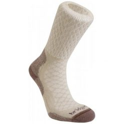 Bridgedale Skarpety Damskie Hike Lightweight Merino Comfort Boot Women's Sand/929 S. Czerwone skarpetki damskie marki Devold, z materiału. Za 69,00 zł.