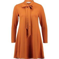 Sukienki hiszpanki: Compañía fantástica SALMIAKKI  Sukienka z dżerseju brown