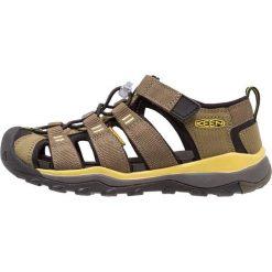 Keen NEWPORT NEO H2 Sandały trekkingowe dark olive/celery. Czerwone sandały chłopięce marki Keen, z materiału. Za 259,00 zł.