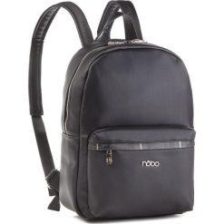 Plecak NOBO - NBAG-MF0020-C020 Czarny. Czarne plecaki męskie marki Nobo, ze skóry ekologicznej. W wyprzedaży za 189,00 zł.