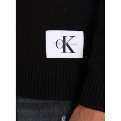 Calvin Klein Jeans SENET REGULAR FIT Sweter ck black. Czarne kardigany męskie marki Calvin Klein Jeans, m, z bawełny. W wyprzedaży za 359,20 zł.