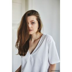 Bluzki, topy, tuniki: VIVIAN BIAŁY T-shirt