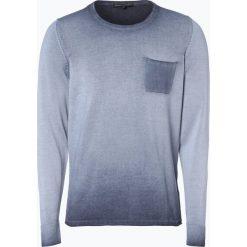 Drykorn - Sweter męski – Lawson, niebieski. Niebieskie swetry klasyczne męskie marki DRYKORN, m, z dekoltem karo. Za 449,95 zł.