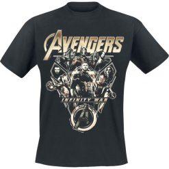 T-shirty męskie z nadrukiem: Avengers Infinity War – Tech Ensemble T-Shirt czarny