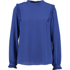 Bluzki asymetryczne: b.young FAE BLOUSE Bluzka sapphire blue