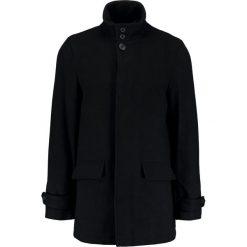Burton Menswear London SMART Płaszcz wełniany /Płaszcz klasyczny black. Czarne płaszcze wełniane męskie marki Burton Menswear London, m, klasyczne. W wyprzedaży za 439,20 zł.