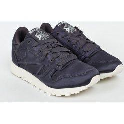 Reebok Classic - Buty Cl Lthr Satin. Szare buty sportowe damskie reebok classic Reebok Classic, z gumy. W wyprzedaży za 219,90 zł.