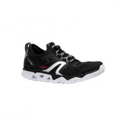 Buty do szybkiego marszu PW 500 Fresh damskie. Czarne buty do fitnessu damskie marki Kazar, z nubiku, przed kolano, na wysokim obcasie. Za 129,99 zł.