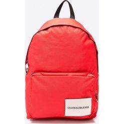 Calvin Klein - Plecak. Czerwone plecaki męskie Calvin Klein, z poliesteru. W wyprzedaży za 239,90 zł.