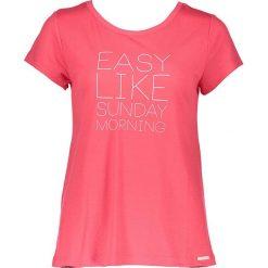 Piżamy damskie: Koszulka piżamowa w kolorze koralowym