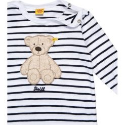 Bielizna dziewczęca: Steiff Collection 1/1 ARM NEWBORN UNISEX WELLNESS WEAR BABY Piżama marine