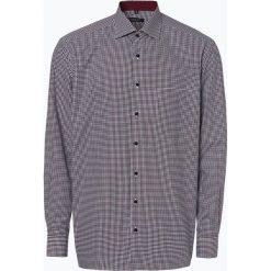 Eterna Comfort Fit - Koszula męska łatwa w prasowaniu, niebieski. Brązowe koszule męskie non-iron marki N/A, w kolorowe wzory. Za 249,95 zł.
