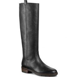 Kozaki GINO ROSSI - Nevia DKG176-G17-VL00-9900-M 99. Czarne buty zimowe damskie marki Gino Rossi, ze skóry, na obcasie. W wyprzedaży za 299,00 zł.