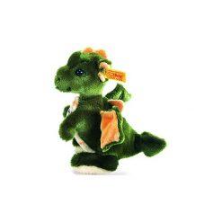 Steiff  Maskotka Smok Raudi stojący 17 cm kolor zielony. Zielone przytulanki i maskotki marki Steiff, z futra. Za 143,00 zł.
