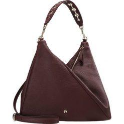 Shopper bag damskie: Aigner CARLIE ASSYMETRIC BUCKET Torba na zakupy burgundy