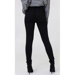 Spodnie damskie: Levi's Rurki z wysokim stanem Mile – Black