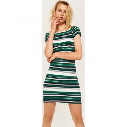 Sukienka off shoulder - Zielony. Zielone sukienki House, l. W wyprzedaży za 39,99 zł.