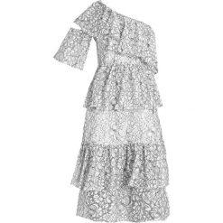 Sukienki: Missguided ONE SHOULDER Sukienka letnia white