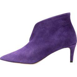 L37 MARIGOLD Ankle boot lila. Czarne botki damskie skórzane marki L37, retro. Za 559,00 zł.