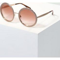 Dolce&Gabbana Okulary przeciwsłoneczne pink gradient. Czerwone okulary przeciwsłoneczne damskie lenonki Dolce&Gabbana. Za 1089,00 zł.